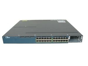Cisco-WS-C3560X-24P-L-24-Port-Gigabit-PoE-Switch-no-power-1-Year-Warranty