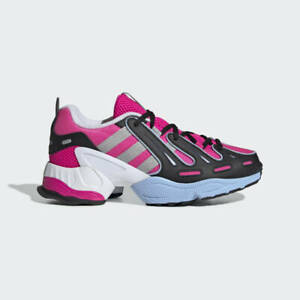 new product f7360 ee03b Details about NEW ADIDAS WOMEN'S EQT GAZELLE SHOES SHOCK PINK SILVER  METALLIC GLOW BLUE