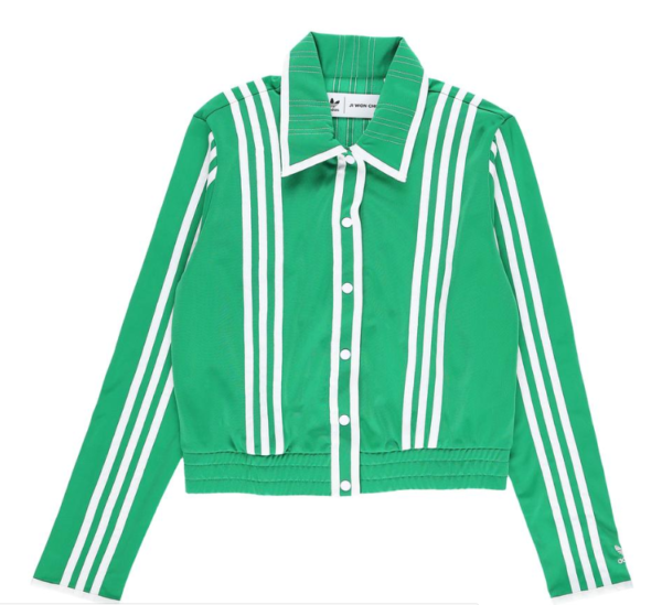 Women's X Ji Won Choi Belted Track Jacket In Green