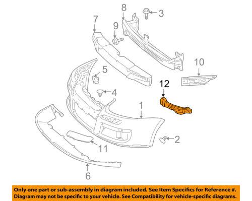 Nouveau VW Jetta 06-10 pare-chocs Avant /& PHARE SUPPORT GAUCHE N//S