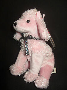 d6e6a7a9c6b TY BEANIE BABY BRIGITTE - THE PINK POODLE - MINT - RETIRED ...