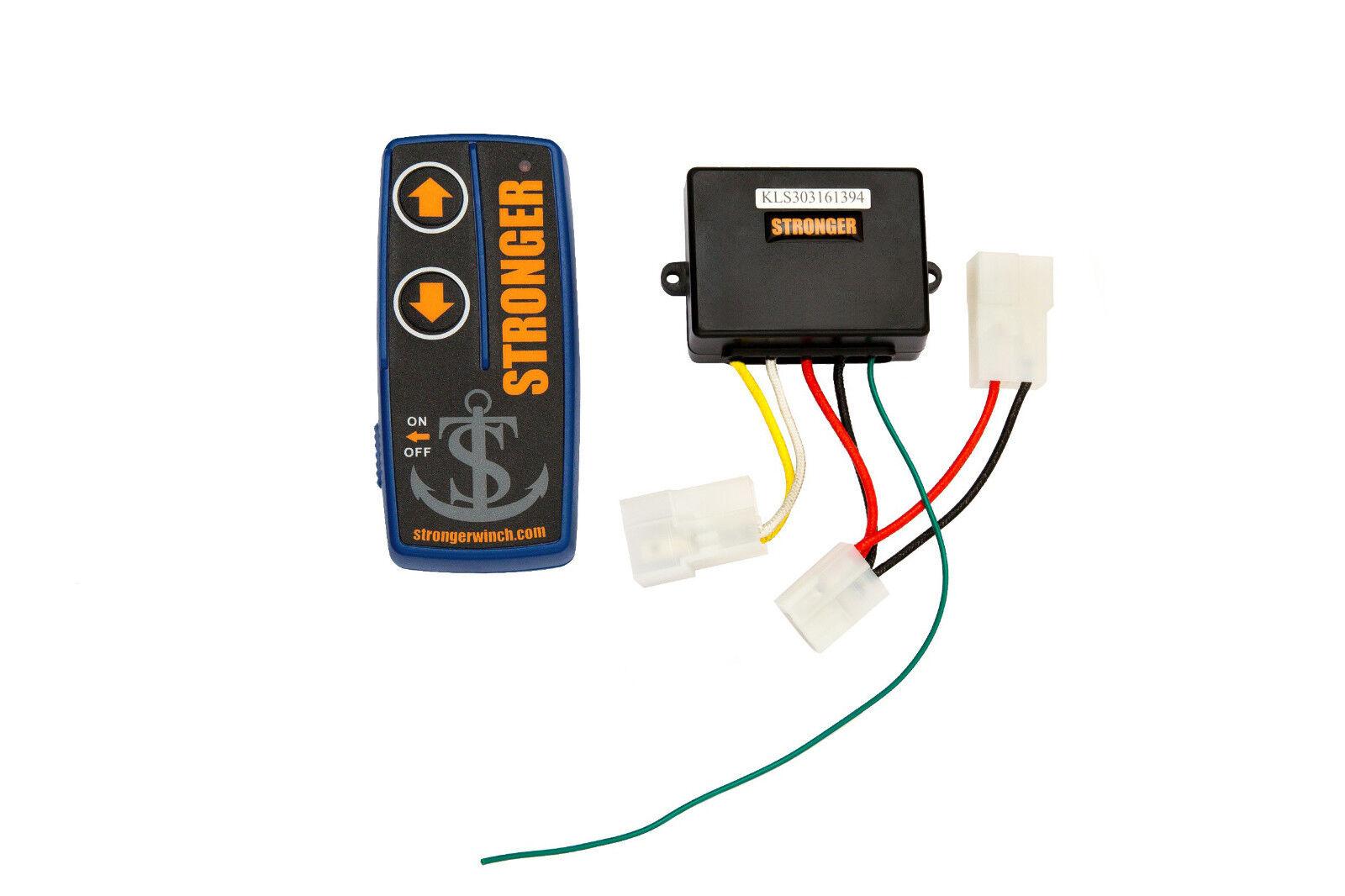 STRONGER Funkfernbedienung SchlauchStiefel für elektrische Ankerwinde SchlauchStiefel Funkfernbedienung MotorStiefel f033cb
