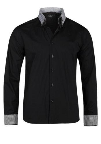 Victory Eagle Men/'s VT559 Long Sleeved Shirt Black