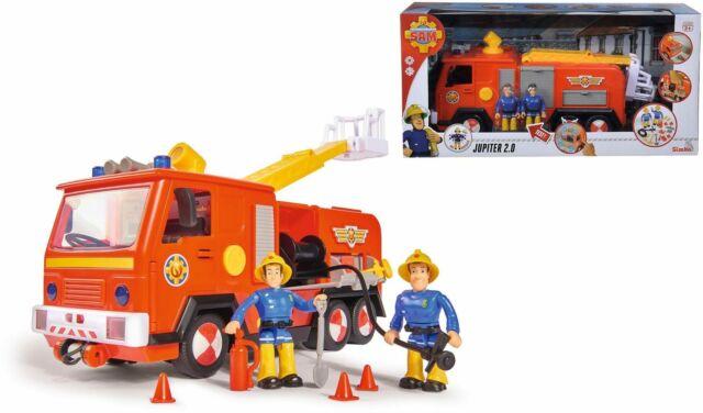 Feuerwehrmann Sam 109251036 SAM JUPITER 2.0 MIT 2 FIGUREN