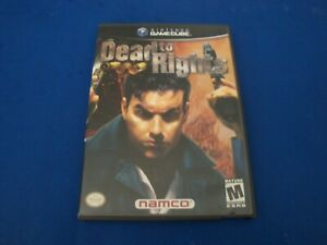 Dead to Rights (Nintendo GameCube, 2002) Clean Disc