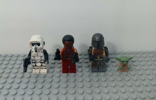 LEGO The Child/Mandalorian/Greef/Scout  Minifigure 75292 Razor Crest Lot of 4