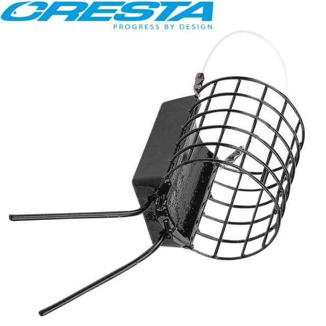 Cresta Cage Feeder XL Grip 3,5x4,2cm - Futterkorb zum Feederangeln, Feederkorb