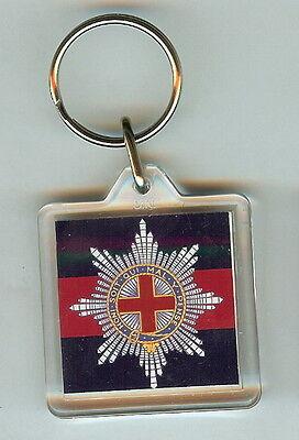 Acrylic Military Key Ring Irish Guards