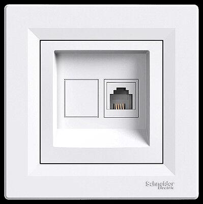 Steckdose Ausschalter  Rahmen  Ein - Ausschalter Schuko Steckdosen  Asfora LED