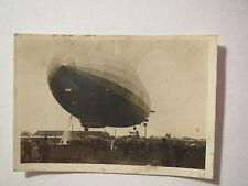 Zeppelin Weltfahrten Bild Nr. 117 - Landung mit schwerem Schiff / Sammelbild