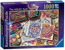 RAVENSBURGER PUZZLE*1000 TEILE*AIMEE STEWART*THE ARTIST'S DESK*RARITÄT*NEU+OVP