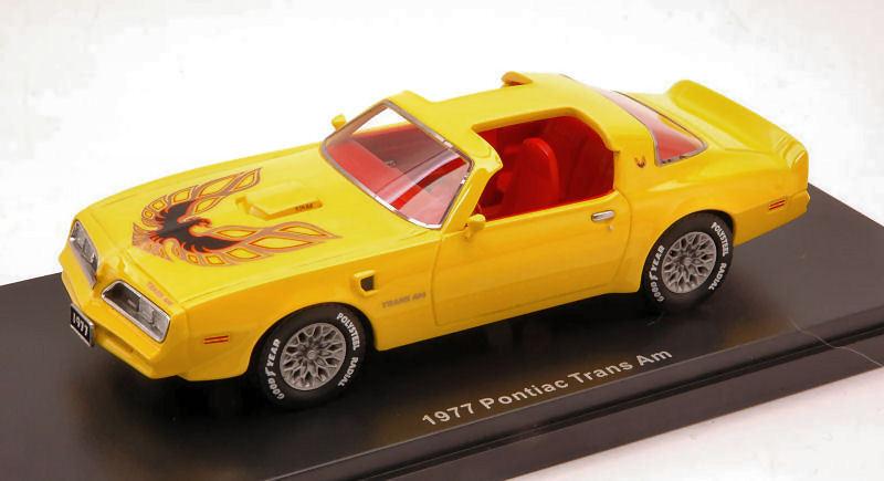 Pontiac Trans Am 1977 jaune 1 43 Model AUTO WORLD