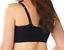 Catherines Black Front-Close No-Wire Cotton Knit Comfort Bra Details about  /52B Bra