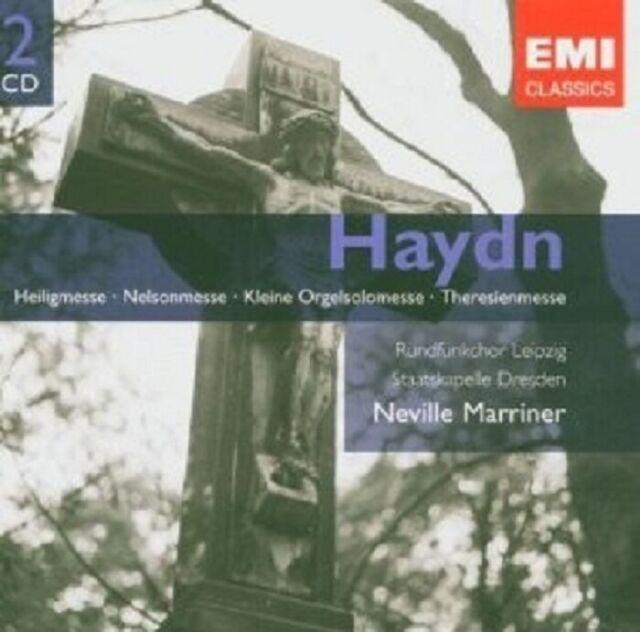 HENDRICKS/MARRINER/SD/+ - MESSEN (HEILIG/NELSON/+) (DF) 2 CD NEU