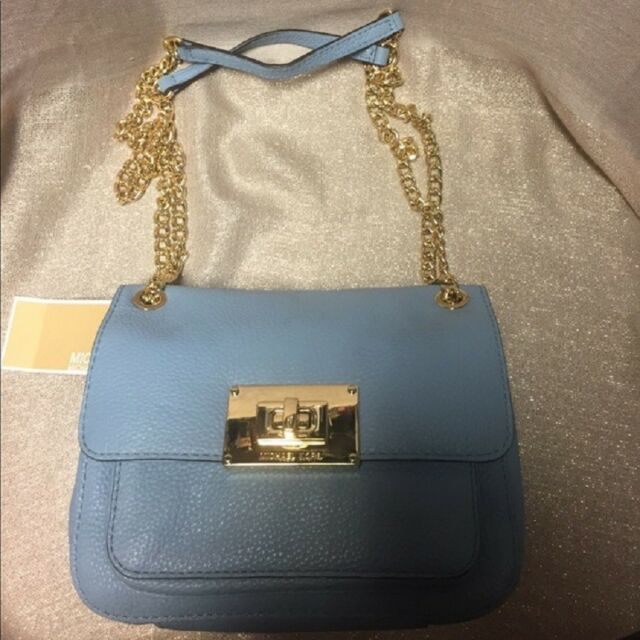 4ab979e155bb Michael Kors Sloan Small Shoulder Flap Powder Blue - 38f4ysll1l | eBay
