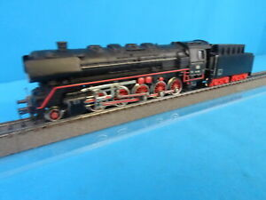 Marklin-3047-DB-Steamer-with-Tender-Br-44-Black-TELEX-amp-Smoke-OVP