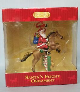 Breyer-700639-Santa-039-s-Flight-Jumping-Horse-Christmas-Ornament-NIB