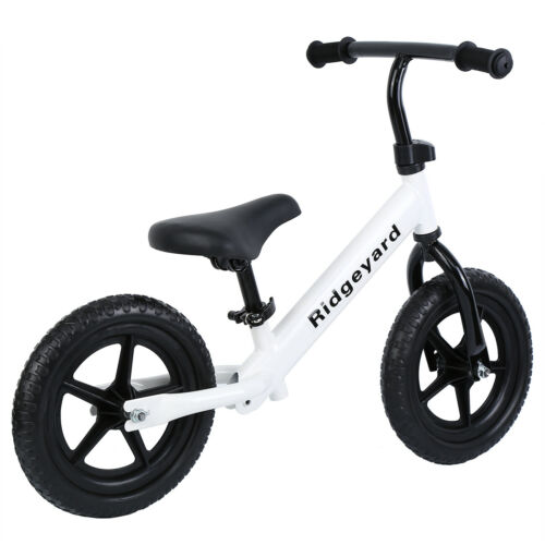 "Ridgeyard 12/"" Childrens Child Girls Boys Balance No Pedal Push Pre-bike Bicycle"