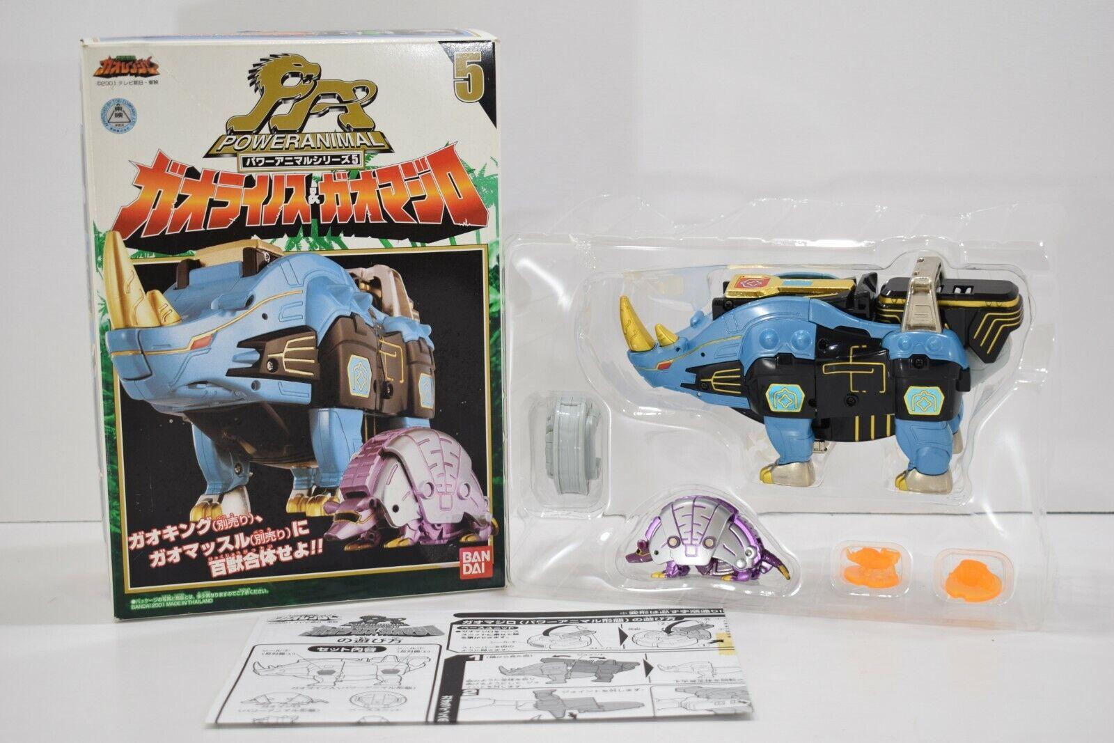 Energia  Rangers Wild Force Gaaranciar energia Animal Gao Rhino & Gao Majiro Zord  liquidazione