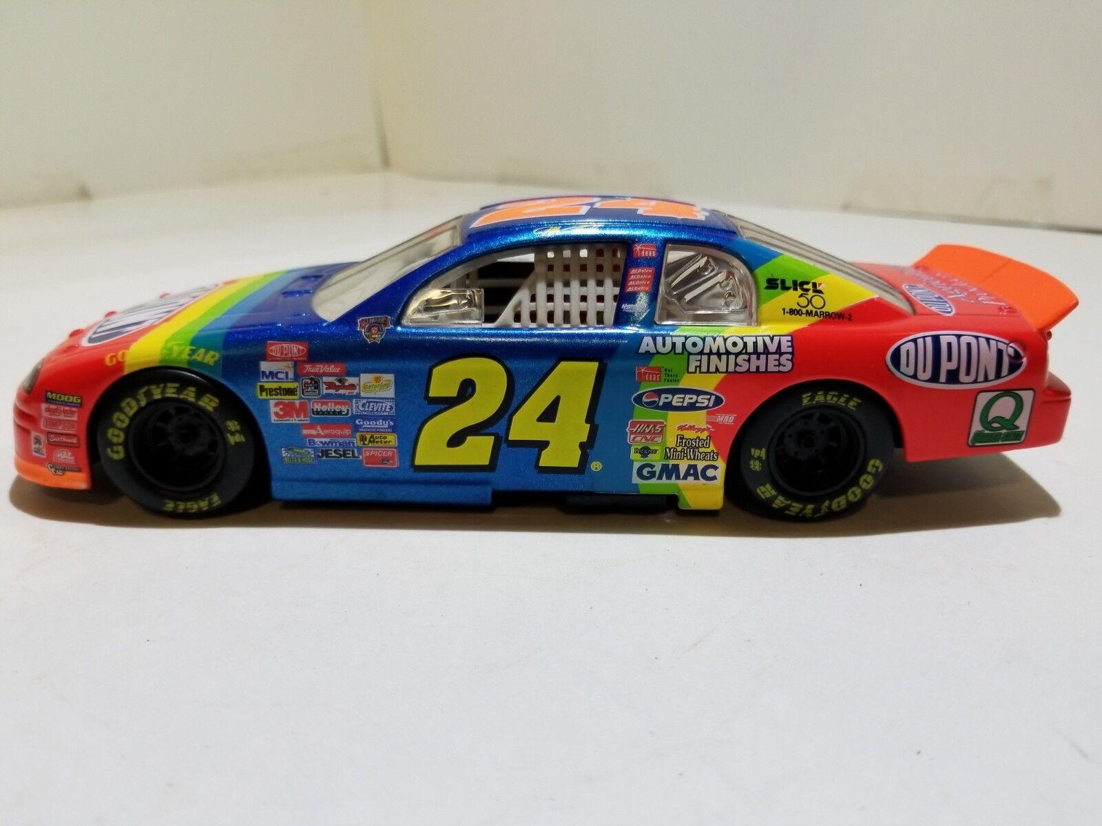 NASCAR 1 24 Jeff Gordon 1998 Monte Carlo Du Pont Racecar