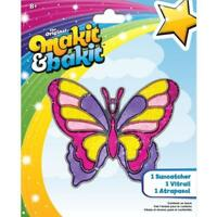 Colorbok Makit And Bakit Suncatcher Kit-large Butterfly, New, Free Shipping