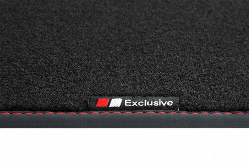 Exclusive-line Design Fußmatten für Audi TT 8S FV Coupe Roadster S-Line ab Bj 2