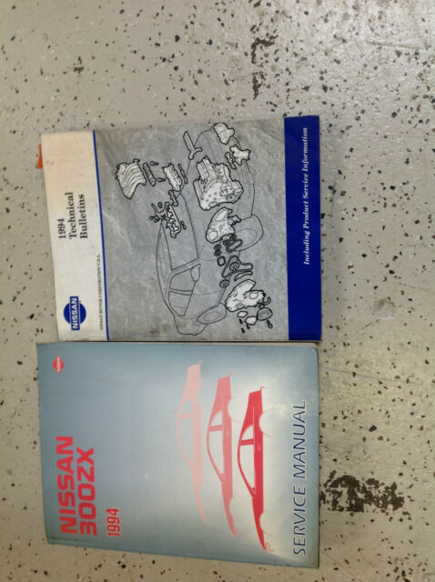 1994 Nissan 300zx Service Repair Shop Manual Oem Set W