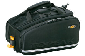 TOPEAK MTX Trunk EXP Bag Rack Top Pannier Bike Rear TRUNKBAG 16.6Ltr TT9647B