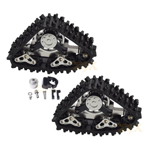 RC Snow Track Wheel Tires Buggy Snow Sand Paddle Tires for 1//10 RC Traxxas TRX-4