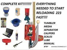 Lee Precision Load Master 223 Remington Reloading Rifle Kit (Red)