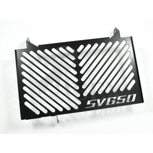 Suzuki SV 650 BJ 2016-19 Kühlerabdeckung Wasserkühler Kühlergrill Logo schwarz