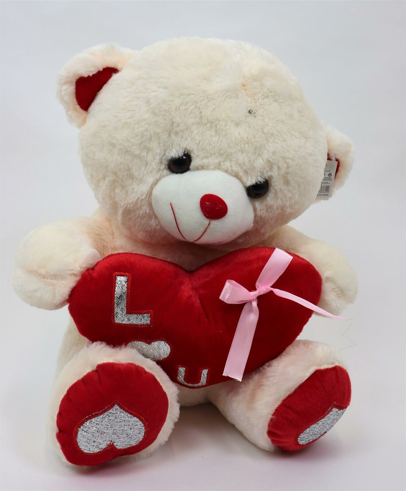Cute Lamb Stuffed Animals, 50cm Teddy Bear Red Holding Heart Valentine Gifts Present Soft Plush Cute Toys For Sale Online Ebay