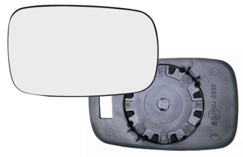GLACE RETROVISEUR RENAULT CLIO 3 01//2005-04//2009 DROIT NON DEGIVRANT CONVEX