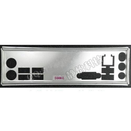 OEM IO SHIELD BLENDE BRACKET for MSI B75MA-E33 MSI Z77A-G41