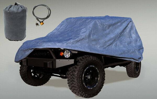 Outland 391332173 Full Car Cover Kit for Jeep CJ8// LJ//JK Wrangler Unlimited