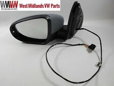 VW Golf MK6 09-13 Electric Primed Wing Door Mirror Indicator Passenger Side
