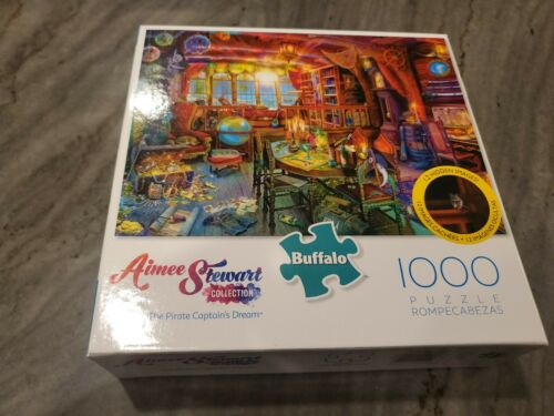 Aimee Stewart Collection Pirate Captain/'s Dream 1000 PC Puzzle New Buffalo