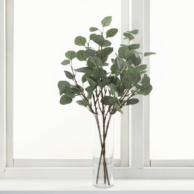 Dried & Artificial Flowers Wedding Eucalyptus Leaves Simulation Plant Fake  Foliage Artificial Bouquet Home, Furniture & DIY coccinelli.de