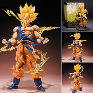 6-034-SON-GOKU-Dragon-Ball-Z-Super-Saiyan-Anime-Model-Figure-Collection-Toys-NEW