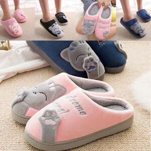 5af59b13124 Women Men Lover FUNNY Cute Cozy Cat Paw Slippers Home Warm Winter ...