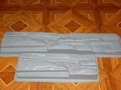 Plastic Molds for Concrete Plaster Wall Stone Tiles for Garden Wall Decoration