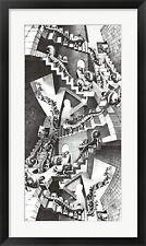 M.C. Escher House of Stairs, Framed W/Mat 35x21