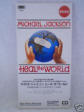 Michael Jackson Edition 2 Heal The World 3' Promo Japan ESDA 7118