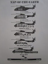 5/1989 PUB E.H. INDUSTRIES AGUSTA WESTLAND EH 101 HELICOPTER ORIGINAL AD