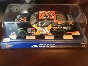 ROBBY-GORDON-ACTION-1-24-SIGNED-AUTOGRAPHED-CINGULAR-WIRELESS-MONTE-CARLO-NASCAR