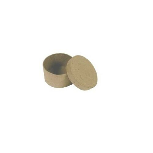 épaisseur 3,5 cm Boîte ronde diam 8 cm