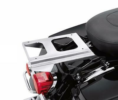 Chrome Detachable Two Up Tour Pack Mounting Rack Harley Touring 2009-13 53276-09