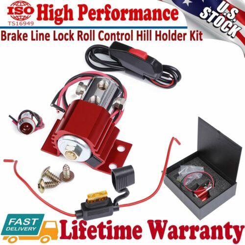 Universal Front Brake Line Lock Heavy duty Hill Holder Roll Control Solenoid Kit
