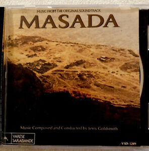 Jerry-Goldsmith-Masada-Music-From-The-Original-Soundtrack-CD-1981
