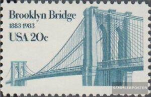 EEUU 1630 (completa edición) nuevo con goma original 1983 Brooklyn Puente